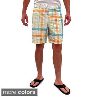 Gotcha Men's Plaid Board Shorts