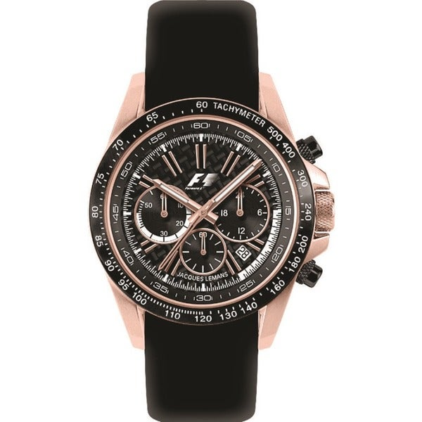 Jacques Lemans Women's # F5006G Rose Gold Formula One Watch