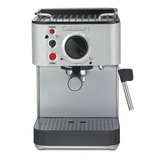 Cuisinart EM-100FR 1000-Watt 15-Bar Espresso Maker, Stainless Steel (Refurbished)