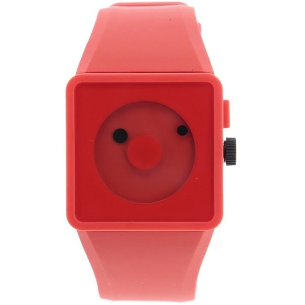 Nixon Men's A116-200 'Newton' Orange Rubber Watch