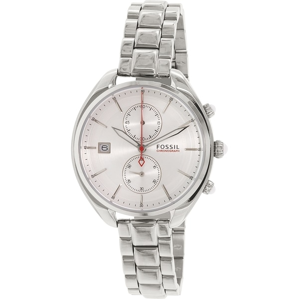 Fossil Women's CH2975 'Land Racer' Chronograph Stainless Steel Watch
