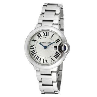 Cartier Women's W6920084 'Ballon Bleu' Stainless Steel Watch