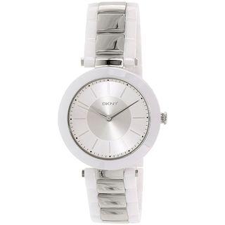 DKNY Women's NY2288 'Stanhope' Two-Tone Ceramic Watch