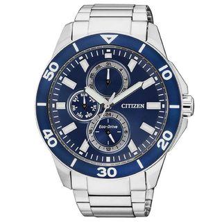Citizen Men's AP4031-54L 'Eco-Drive' Chronograph Stainless Steel Watch