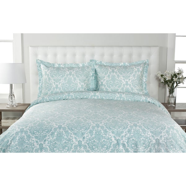 Delano Damask 300 Thread Count 100-percent Cotton Duvet ...