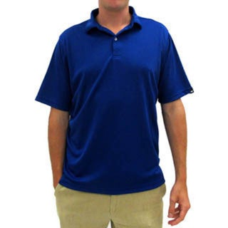 Wedge Men's Short Sleeve Solid Performance Golf Polo