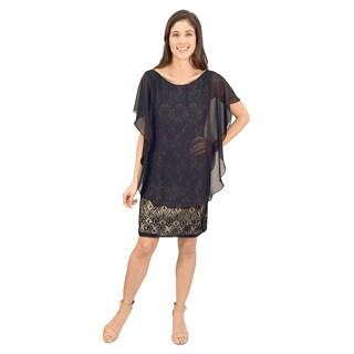 R&M Richards Caplet Lace Dress