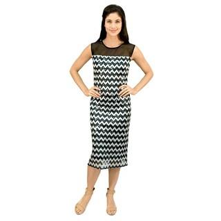 R&M Richards Chevron Lace Dress
