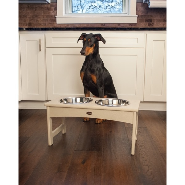 Polywood Steel Dish Pet Feeder