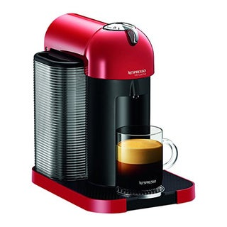Nespresso GCA1-US-RE-NE VertuoLine Coffee + Espresso Maker, Red