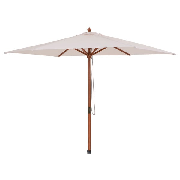 Wooden Umbrella without Flaps - Toscana Cream
