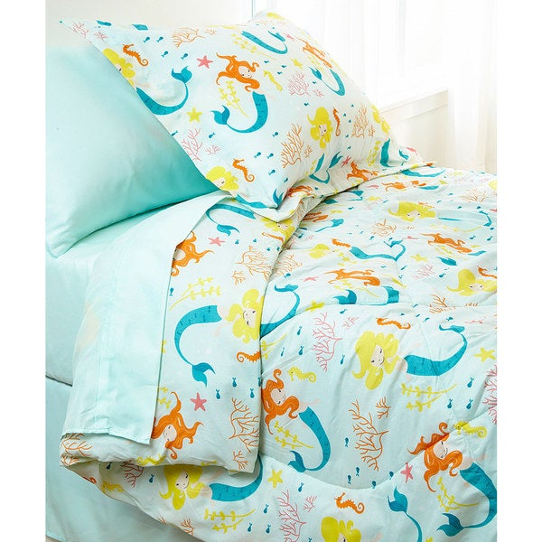 Mermaid 8-piece Bed in a Bag Set