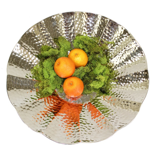 Pampa Bay Silver 20-inch Royal Round Platter