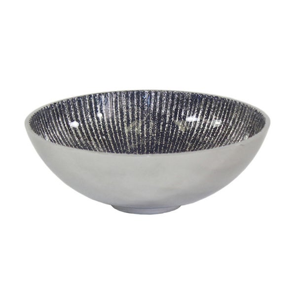Pampa Bay 6-inch Blue Serenity Round Bowl