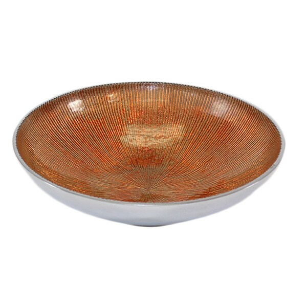 Pampa Bay Aluminum 9.5-inch Serenity Round Bowl