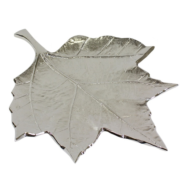 Pampa Bay Leaves Embossed Leaf Dish
