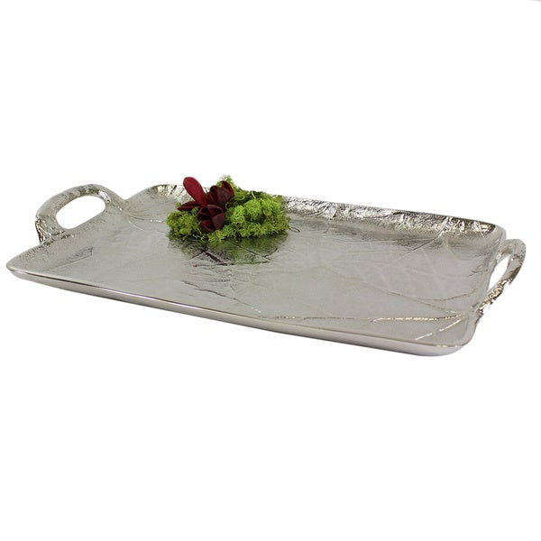 Pampa Bay Leaves Embossed Leaf Tray