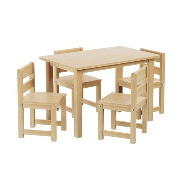 Maxtrix Kids Playtime Play Table with Four Small Chairs