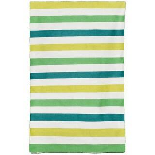 Bold Stripe Indoor/ Outdoor Area Rug (3'6 x 5'6)