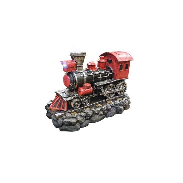 26-inch Red Locomotive Fountain