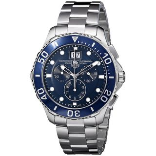 Tag Heuer Men's CAN1011.BA0821 'Aquaracer' Chronograph Automatic Stainless Steel Watch