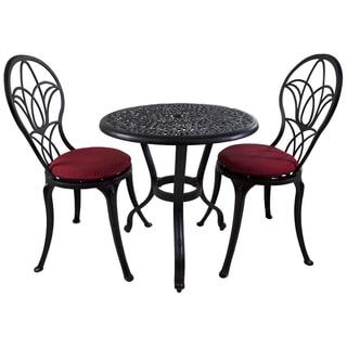 Royal Bistro 3-piece Patio Furniture Set with Sunbrella Cushions