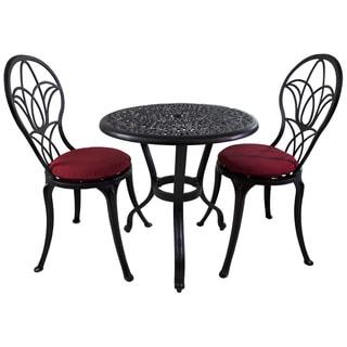 Royal Bistro 3-piece Patio Furniture Set with Sunbrella Cushions