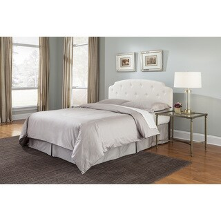 Fashion Bed Group Montreux Button Tufted Upholstered Headboard with Sculpted Corners