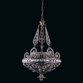 Lumenno Prague Collection 3-light Bronze Pendant