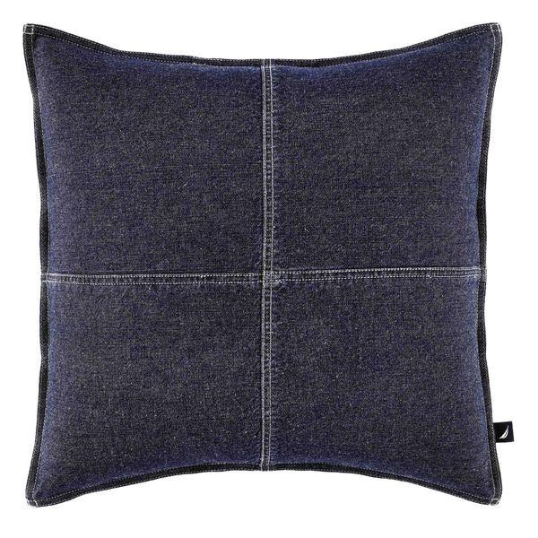 Decorative Denim Pillows : Nautica Seaward Denim 18-inch Decorative Pillow - 17453099 - Overstock.com Shopping - Great ...