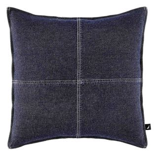 Nautica Seaward Denim 18-inch Decorative Pillow