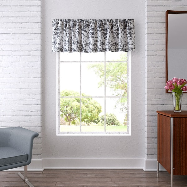 Laura Ashley Amberley Black Valance