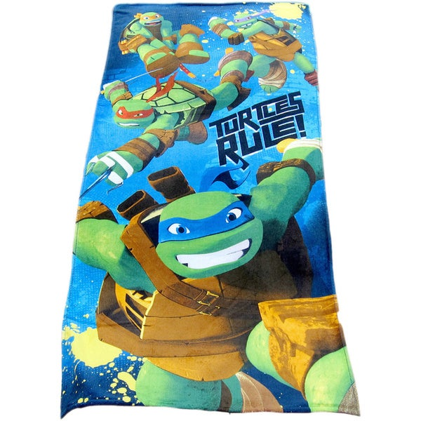 Teenage Mutant Ninja Turtles Cotton Beach Towel