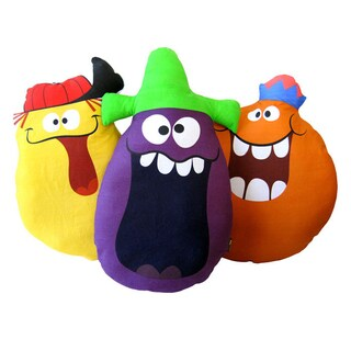 FlapJack Funny Face Pillows (Set of 3)