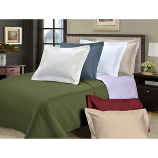 Luxor Treasures 800 Thread Count Cotton 3-piece Solid Duvet Cover Set