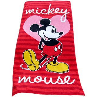 Mickey Mouse Cotton Beach Towel