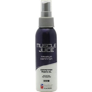 Muscle Juice Competition 4-ounce Posing Oil