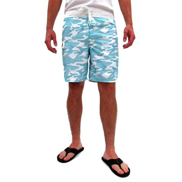 Gotcha Men's Camo Print Board Shorts