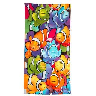 Clown Fish Printed Beach Towel (Set of 2)