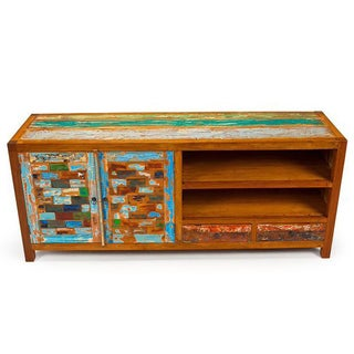 Reel Deal Reclaimed Wood Console