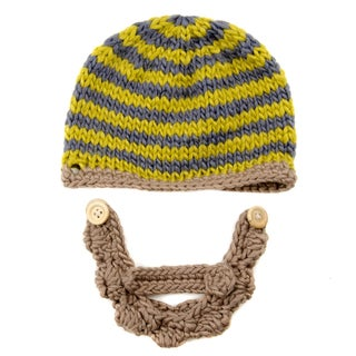 Crummy Bunny Hand-crocheted Beard Beanie