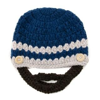 Crummy Bunny Blue Brunette Beard Hat