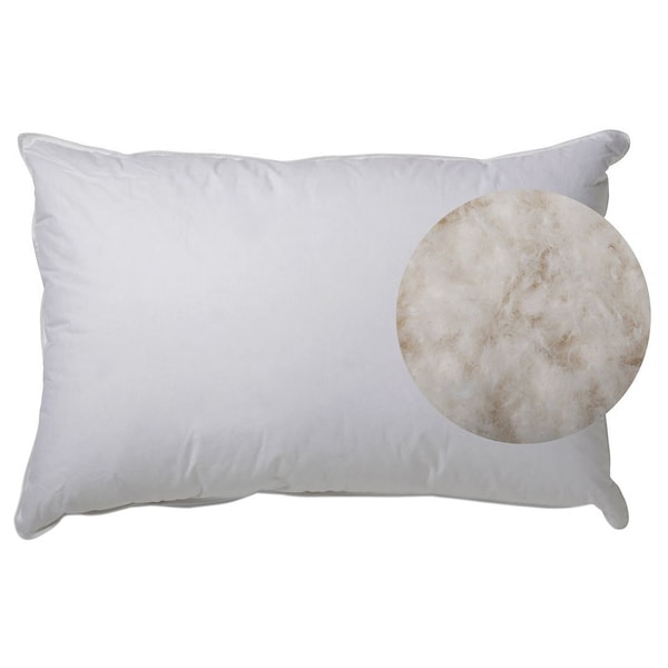 Hotel Collection Luxurious White Goose Down Pillow (As Is Item)