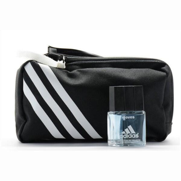 Adidas Moves 0.5-ounce Eau de Toilette Spray and Toiletry Bag