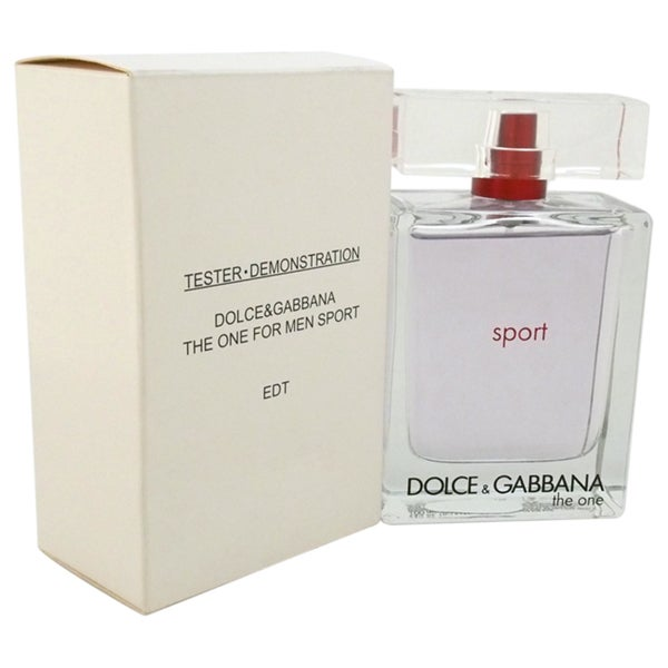 The One Sport by Dolce & Gabbana Men's 3.3-ounce Eau de Toilette Spray (Tester)