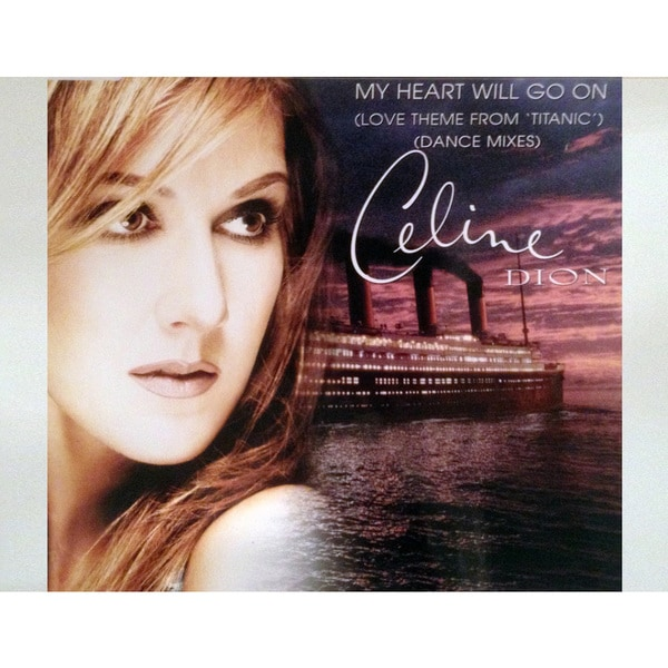 Celine Dion Titanic Album Cover Photograph