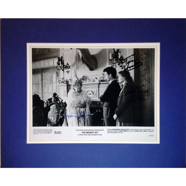 Framed 8x10 Photo - Signed by Tom Hanks, Shelley Long and Maureen Stapleton