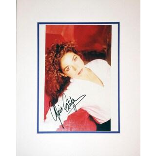 Framed 8x10 Photograph - Autographed by Gloria Estafan