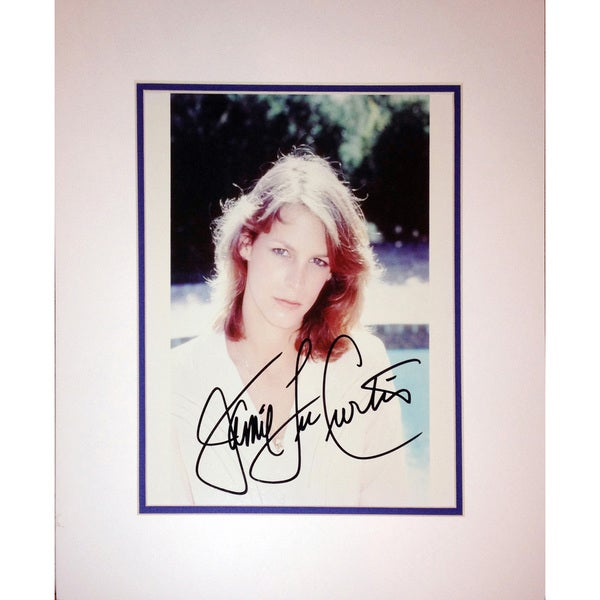 Framed 8x10 Photograph - Autographed by Jamie Lee Curtis