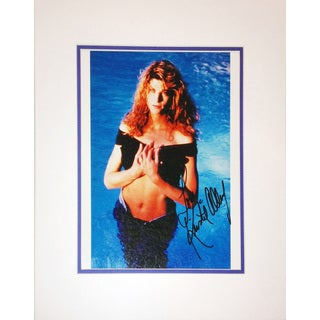 Framed 8x10 Photograph - Autographed by Kirstie Alley